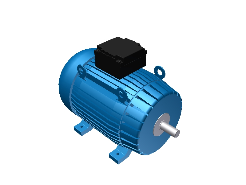 3D Library - Eelectric Motor Frame size 315 - Hemce